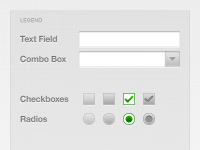 Form Elements form ui form controls input checkbox radio form elements