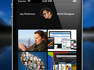 Portfolio avatar personal iphone portfolio thumbs sencha