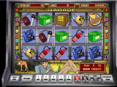 Играй и побеждай в слоте Гараж от казино SlotoKing ux design branding