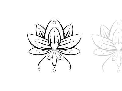 Lotus design. girl tatoo illustration tattoo designs tatoo