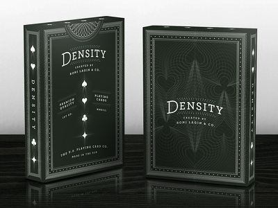 Density Deck — Tuck Case playing cards spades clubs diamonds hearts cards