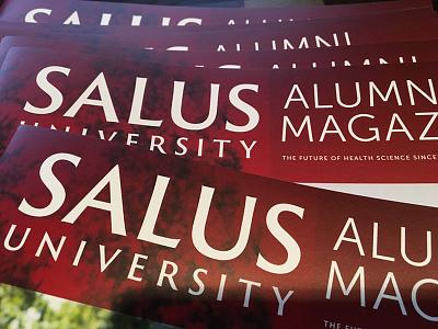 Salus University Alumni Magazine print university alumni heidelberg magazine