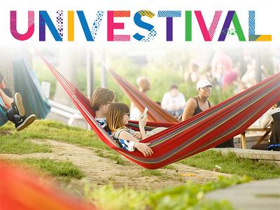 UNIVESTival branding logo summer2017 sprucestreetharborpark univestival