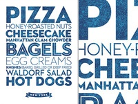 New York ~ Delicious City Prints