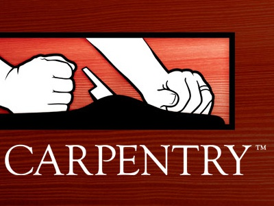 Ad carpentry logo