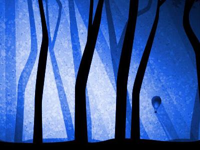 Silas Forager Night illustration art