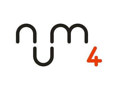 num 4 logo