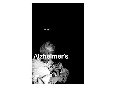 Alzheimer's Awareness Month advocacy modernism modernist international style swiss photography alzheimers alzheimer poster design poster