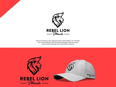 Lion Logo ux vector 3d ui illustration design app logo graphic design branding