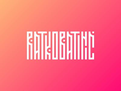 "My name logo exploration ""Ratko Batinić"" graphic  design font letters design branding vector typography logo"