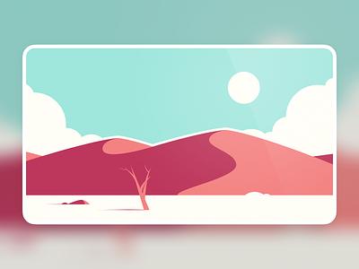 Desert Background vector desktop 4k simple illustration design landscape illustration dunes clean wallpaper landscape background desert