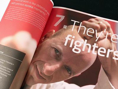 TAU 2014 Annual report typography concept magazine branding annual report issi dvir