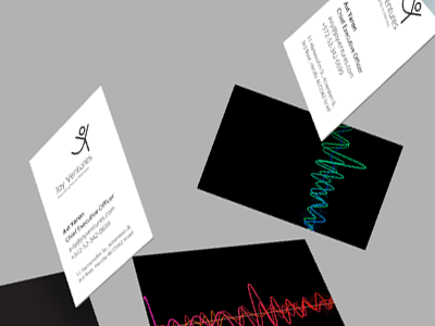 Joy Ventures randing business cards design branding log design