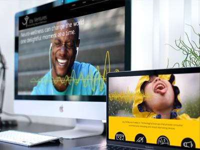 Joy Ventures Web site branding web design