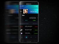Banking app profile