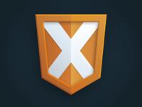 Ultimate X Logo Detail
