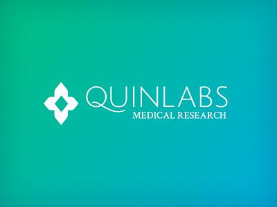 Quinlabs Medical Research sahasrala diamond research medical harley quinn harleen quinzel quinlabs branding identity logo