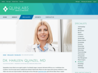 Quinlabs Profile Page