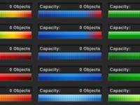 Capacity Meter Color Test