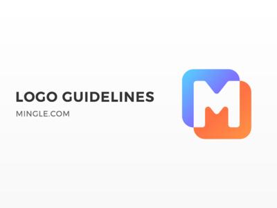 Mingle Logo Guideline - Rejected Logo guideline redesign branding logo