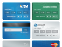 Creditcards signup