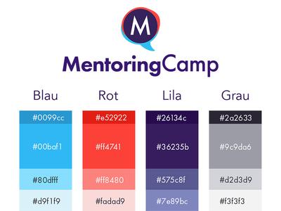 MentoringCamp Styleguide / Moodboard moodboard styleguide