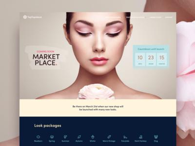 Marketplace Launch Page countdown launch beautyretouchcc panel photoshop marketplace