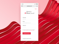 PicaCloud Sign Up