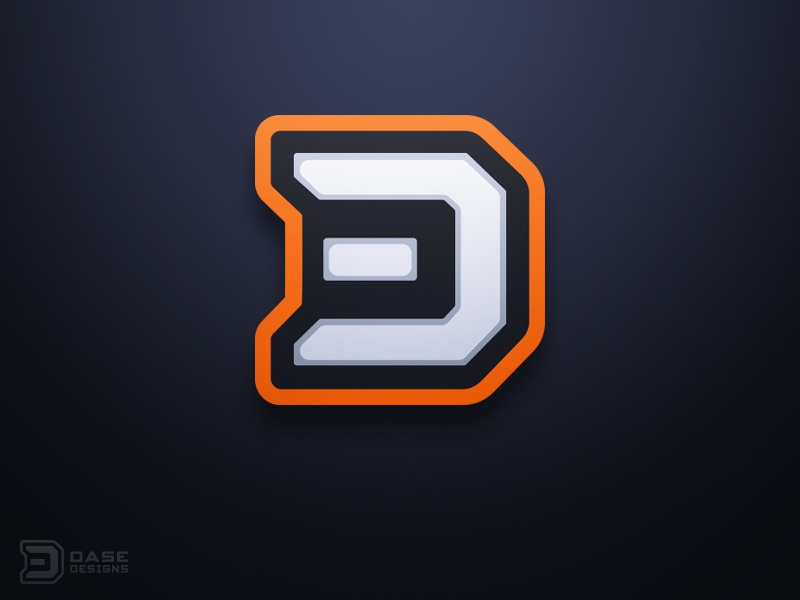 d logo design by derrick stratton dribbble dribbble. Black Bedroom Furniture Sets. Home Design Ideas