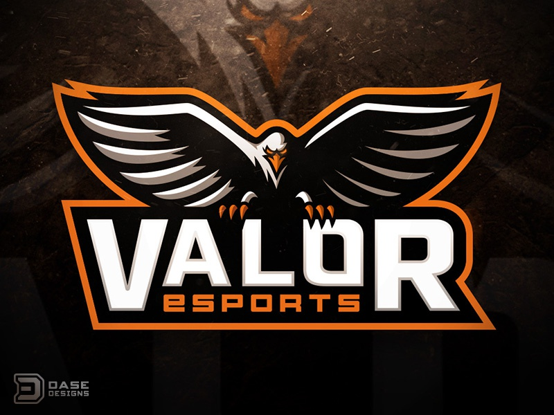 valor eagle mascot by derrick stratton dribbble dribbble. Black Bedroom Furniture Sets. Home Design Ideas