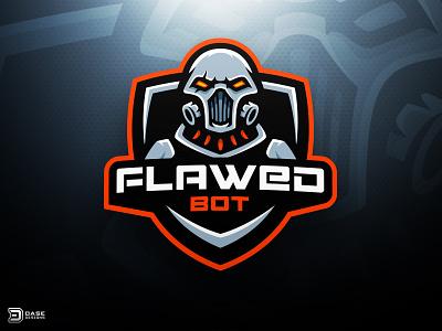 Cyborg Esports Logo skull gas mask graphic design dasedesigns logo design esports gaming sports logo robot logo illustration cyborg