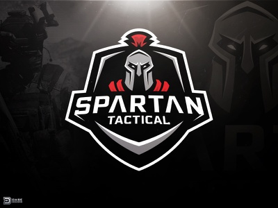 ARMA 3 Spartan Logo esports logo branding identity dasedesigns shield badge spartan mascot arma 3 arma logo gaming spartan