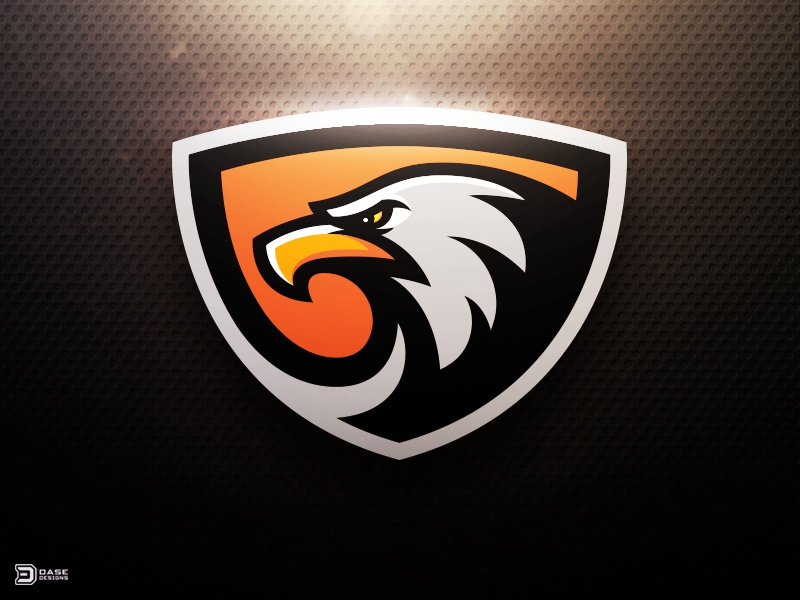 sortie gaming eagle sports logo by derrick stratton dribbble