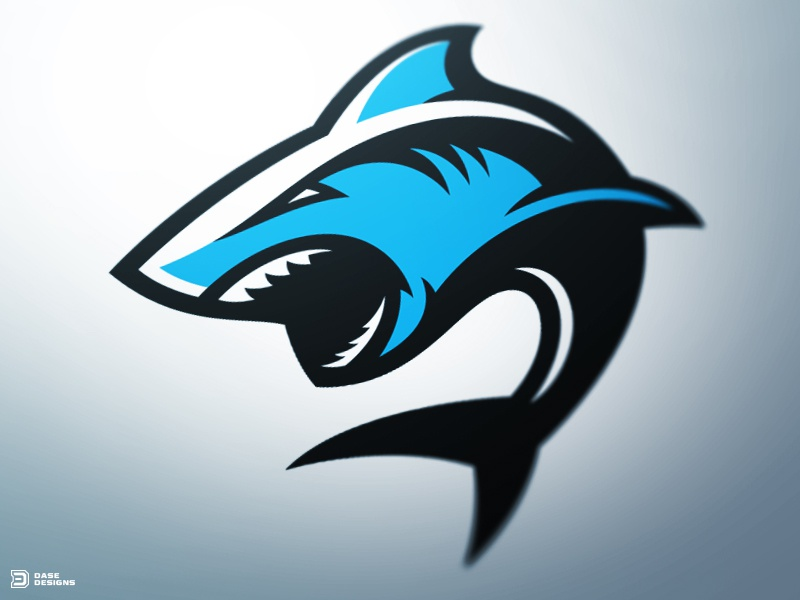deep contact a recent shark sports logo created for practice now in use by an esports team check it out below