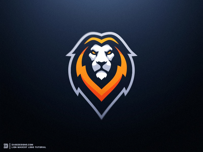 Lion eSports Logo Tutorial Dasedesigns how to create logo dasedesigns illustration lions sports gaming logo design logo tutorial esports logo lion