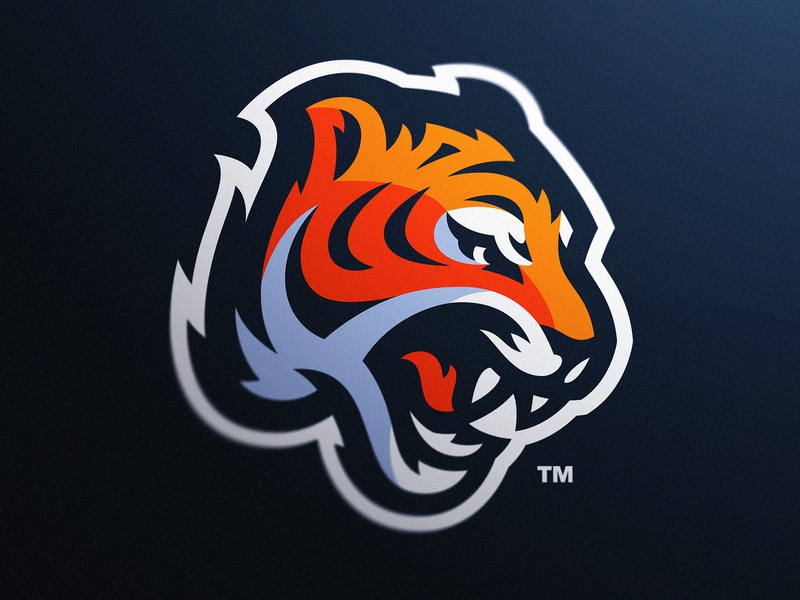 Tiger Sports Logo By Derrick Stratton On Dribbble