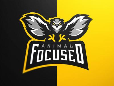 Owl Mascot Logo Animal Focused eSports