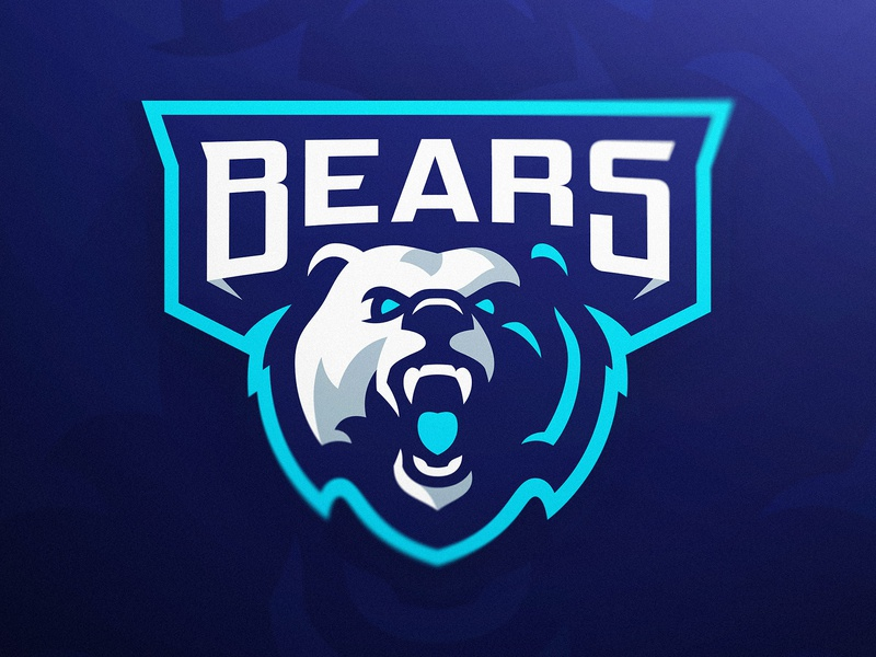 Bears eSports Mascot Logo modern sports branding sports logo identity design branding illustration logoinspirations dasedesigns logo design how to create a logo logo course esports gaming mascot logo bears bear