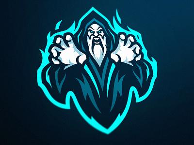Warlock Esports Mascot Logo logo design esports logo sports logos tutorial vector illustration dasedesigns esports branding esports gaming sports branding sports logo mascot logo wizards wizard warlock