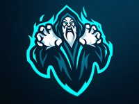 Warlock Esports Mascot Logo