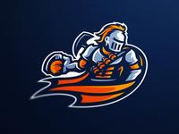 Fragnite Gaming Knights eSports Mascot Logo