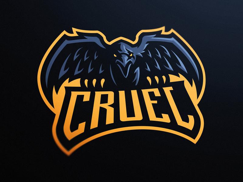 Raven eSports Mascot Logo by Derrick Stratton on Dribbble