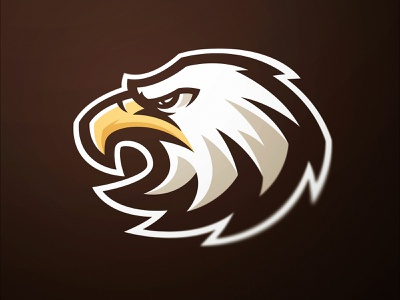 Eagles Sports Logo esports gaming mascot logo unused for sale dasedesigns illustration identity design sports design sports logos sports logo gaming logo logo design eagle logo eagle icon eagle eagles