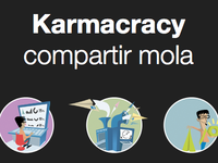 New karmacracy landing