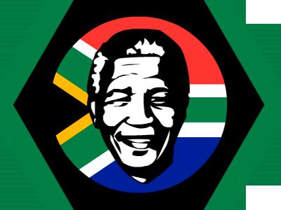 Mandela 1918 - 2013 mandela nelson nut award karmacracy badge south africa