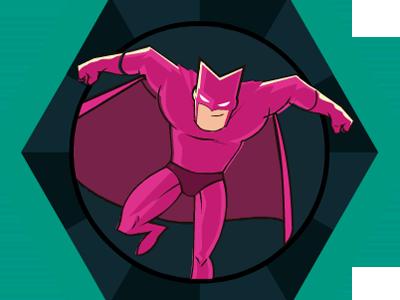 Otogami nut award badge superhero karmacracy