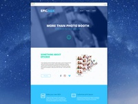 EpicBox landing page