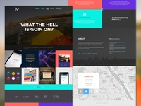 Agency website (concept & redesign)