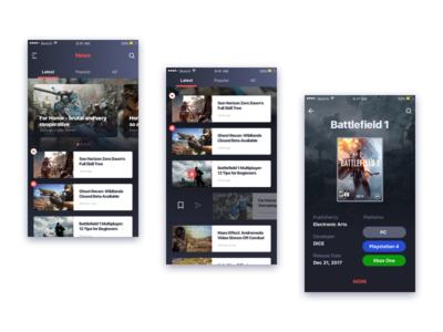 Game News App
