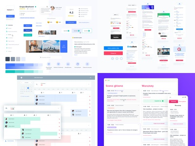 Top 4 from 2018 web design ux web ui